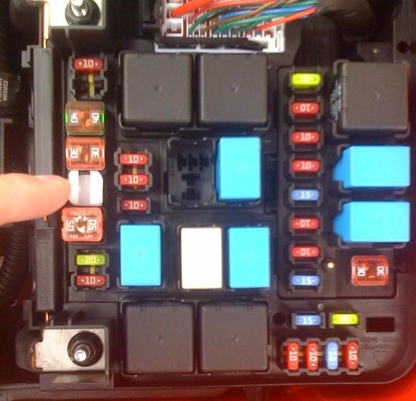 horn not working? kia forte forum 2000 Kia Sephia Fuse Box Diagram